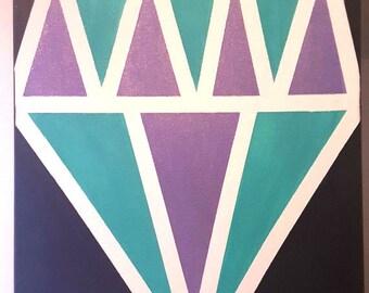 Glitter Diamond Canvas