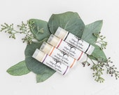 Lip Balm - 2 Pack - All Natural Handcrafted - Contains organic ingredients