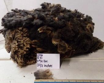 Black, Gray, and Brown Half Black Merino Wool R31 2016