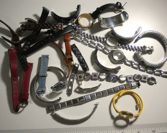 Watchbands for Art Steampunk Jewelry and More