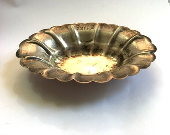 Vintage Sterling Decorative Dish