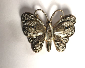 Vintage Butterfly Brooch - made in Spain