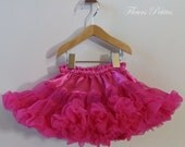 18 inch Doll Fuchsia Pettiskirt with free T-Shirt Ready to ship Free Shipping