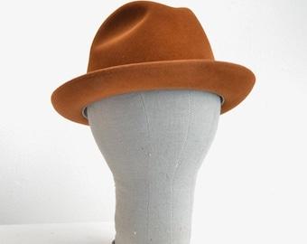 50% OFF SALE / SALE / Vintage 1980s fedora hat