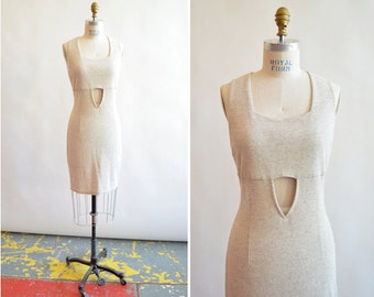 Vintage made in ITALY knit dress