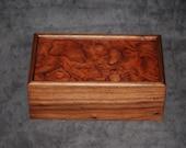 """Fantastically Figured Walnut  Jewelry Box 10"""" x 6"""" x 4"""