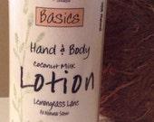 98% Natural Coconut Milk BODY LOTION-8 fl oz--FREE U.S. Shipping