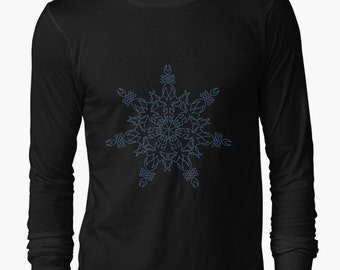Long sleeve Snowflake Design
