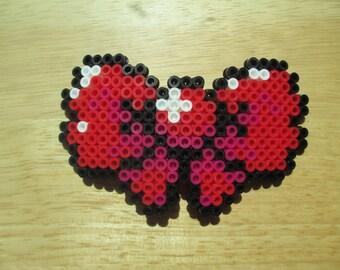 pixel bow, pixel hair bow, 8bit bow, 8bit hair bow, 8-bit bow, 8-bit hair bow, pixel clothes, gamer bow, gamer girl, hair bow, nerdy, geeky