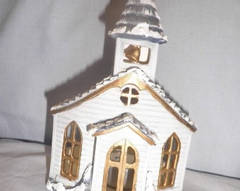 END of WINTER SALE 40%Off Church Votive Candle Holder X136