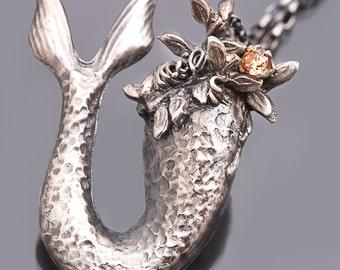 Mermaid Tail Mermaid Tail Necklace Mermaid Tail Pendant