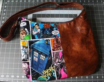Design Your Own Custom Made 1/2 & 1/2 Hobo Bag