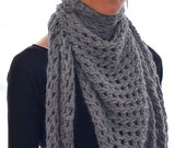 Instructions to Make the Illimani Shawlette - Knitting Pattern PDF Download