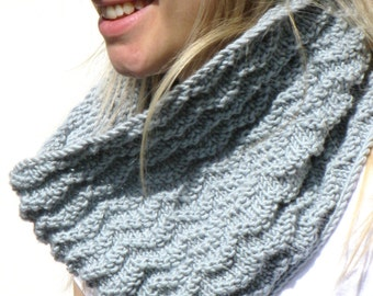 Carbis Bay Cowl Knitting Pattern PDF