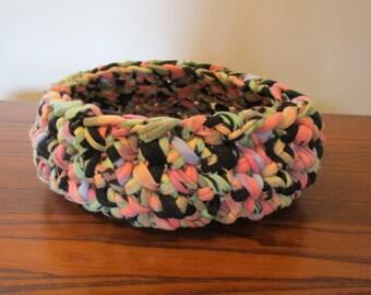 Crocheted Bowl, Basket