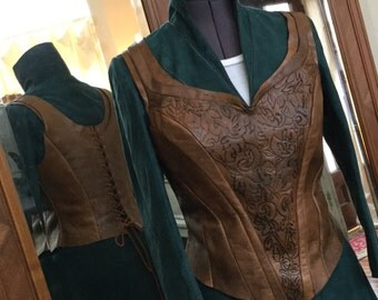 Tauriel Leather Cuirass and Bracers - Amazing!