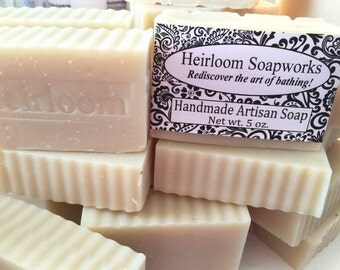 HANDMADE SOAP, Goats Milk Soap, fragrance free soap