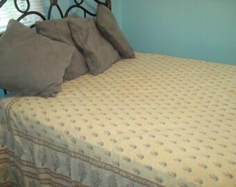 Pondi Cherri 100% Cotton Bedspread/Coverlet, Full size