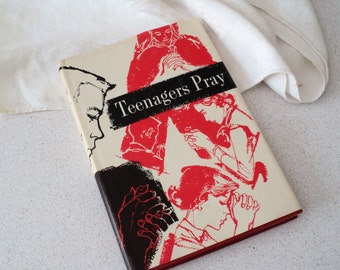 1960s Teenagers Pray Book. Book of Prayers, Concordia Publishing House.