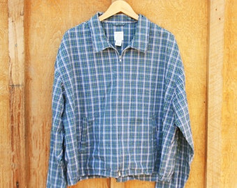 Vintage Gap Classic Plaid Jacket - Men's XL