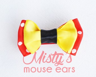 Inspired Minnie Mouse Slider Bow for the Magicband