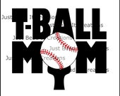 TBall Mom SVG or DXF File