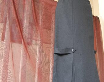 Black millitary skirt size 12