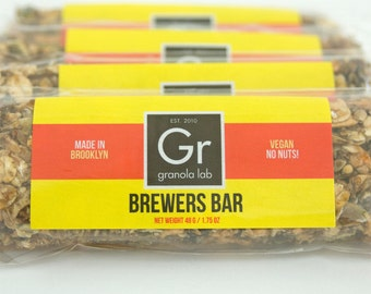 Brewers Bar 5-pack - vegan spent grain granola bars