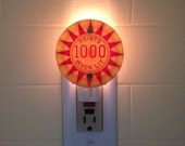 1000 POINTS WHEN LIT Pinball Pop Bumper Night Light