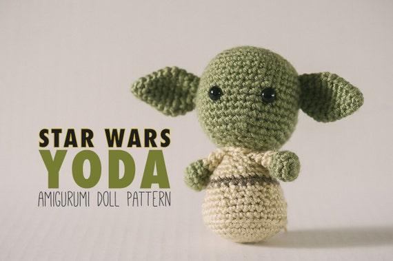 Yoda Amigurumi Doll inspired by Star Wars // Star Wars Crochet