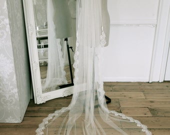 Bespoke Lace Wedding veil - design your own