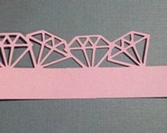 Diamonds napkin ring set of twelve