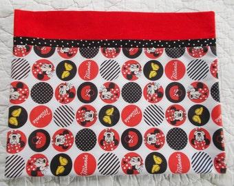 Minnie Mouse Childrens or Travel Pillow Case