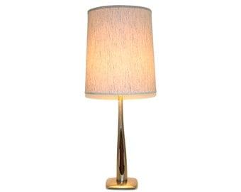 Sculptural Mid-Century Modern Laurel Lamp Co. Nubby Shade