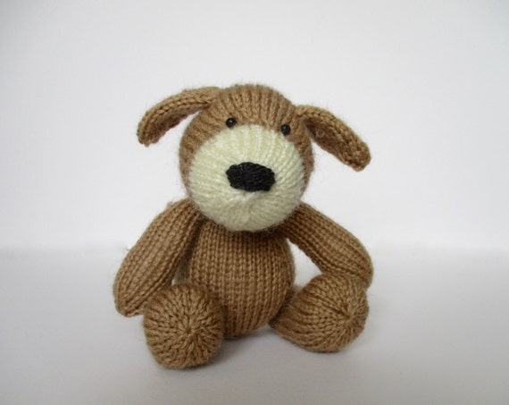 Mortimer Puppy toy knitting patterns