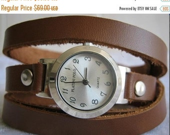Women Watches, Watches For Women, Leather Watches For Women, Watches For Girls, Leather Watch Cuff, Double Strap Watch, Watch Leather Strap