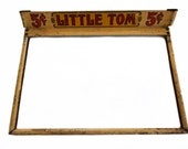 Little Tom Cigar Box Lid, Little Tom Cigars, Display Lid, Advertising Piece