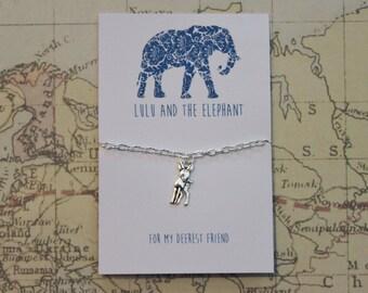 For My Deerest Friend - friendship bracelet