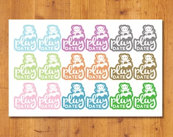 Playdate Planner Stickers