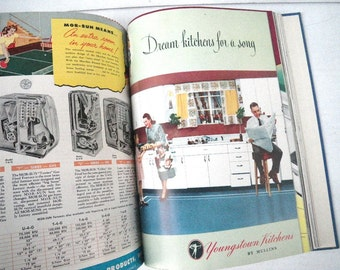 1940s Home Owners Catalogs Book Compilation of Mid Century Home Design Products