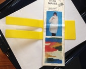 Shag Maker from Lieba, Inc. Vintage Yarn, Sewing Craft Item for Embellishing, Use with Sewing Machine, Instructions included, Plastic