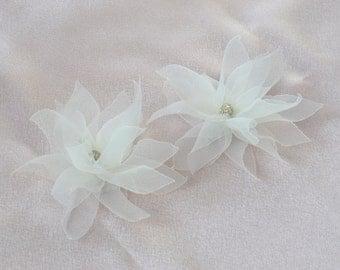 Lotus Flowers Bridal Head Pieces / Hair Clips