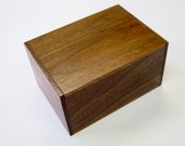 Japanese Puzzle box (Himitsu bako)-87mm (3.4inch) Open by 10steps Pure Walnut wood style