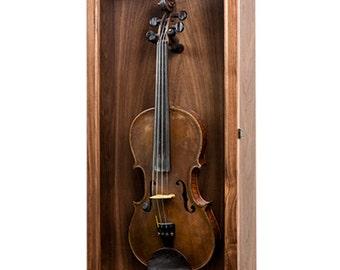 Violin Mandolin Ukulele Display Case