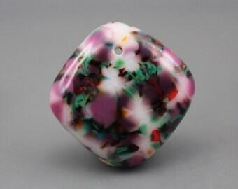 Fused Glass Pendant focal bead