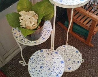 Vintage  Mosaic Plant stand