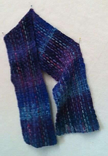 Crocheted Scarf Pattern in Noro Sock Yarn
