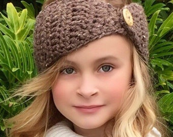 Crochet Head Warmer, Headband Crochet Pattern, The Ava Head Warmer, Ear Warmer Crochet Pattern, Winter Head Warmer, CROCHET PATTERN