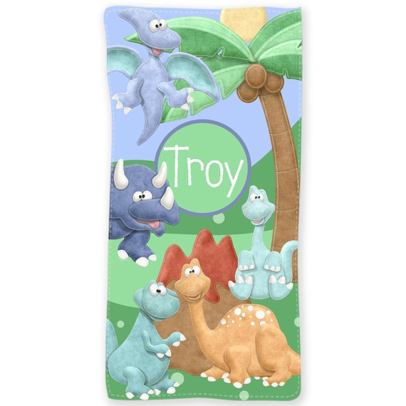 Personalized Beach Towel For Toddler