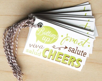 Cheers - Gift Tag